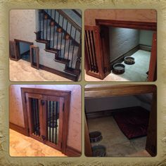 Under Stairs Dog House 1