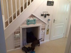 Under Stairs Dog House 10