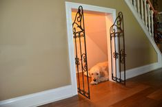 Under Stairs Dog House 9