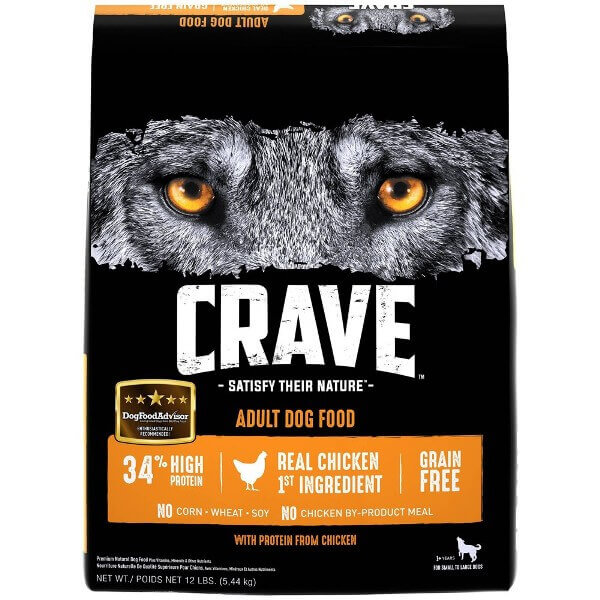 CRAVE Grain Free High Protein