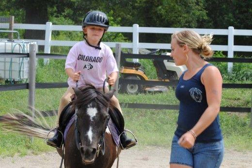 horse ridding lessons 1